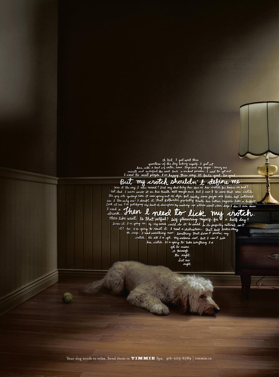 Dog food ad funny