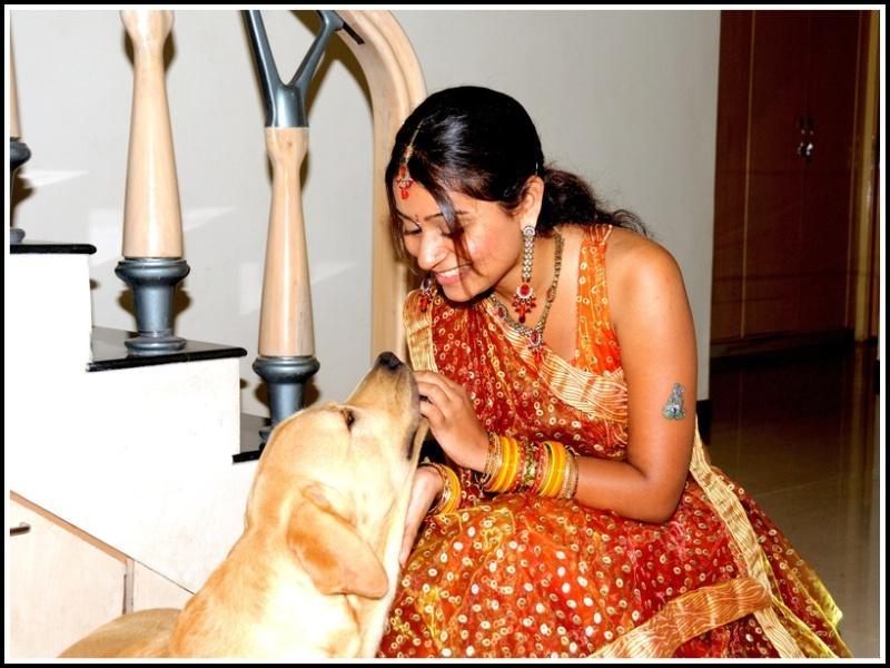 face of friendship, indian bride pet