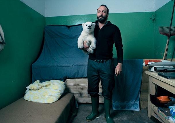 Knut bear caretaker
