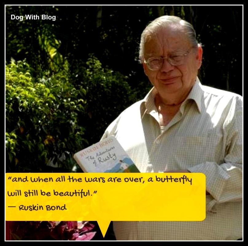 India's favorite author Ruskin Bond