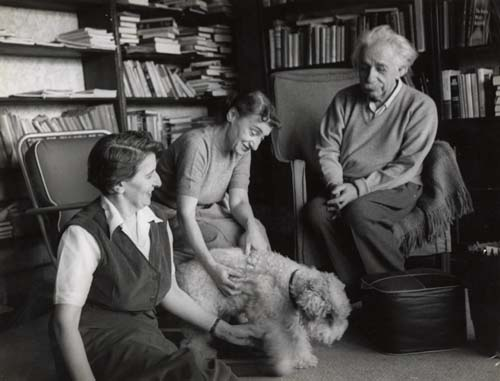 Albert Einstein pet dog