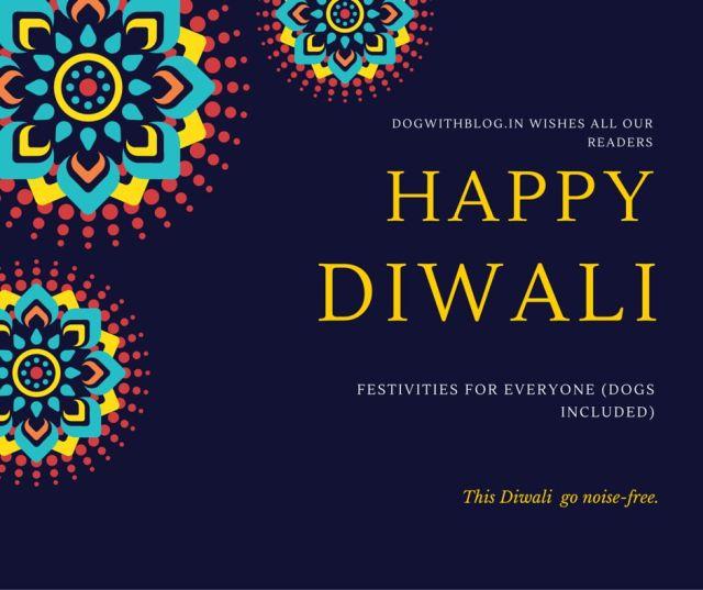 help dogs Diwali
