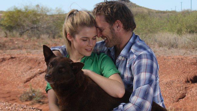 Red Dog cast  Josh Lucas, Rachael Taylor and Koko
