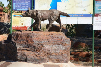 Red Dog Statue Dampier Australia