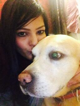 And do remember to kiss your dog! Aakriti Bamniyal