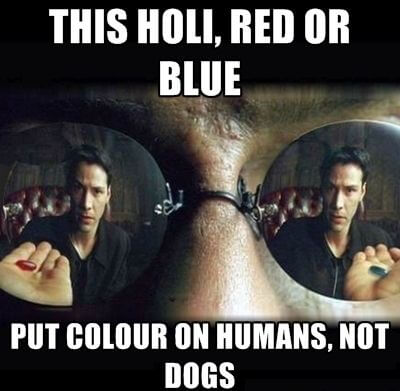 Matrix Holi