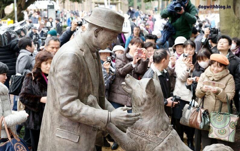 hachiko owner statue reunited