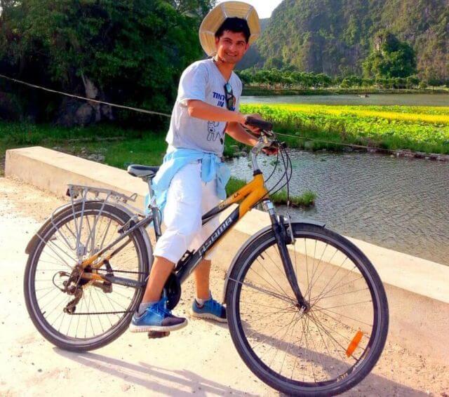 Vietnam cycle tourTam Cốc Bích Động Ninh Bình