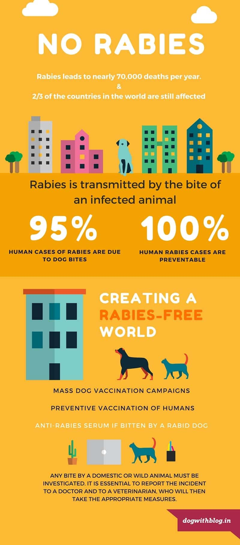Rabies Infographic facts