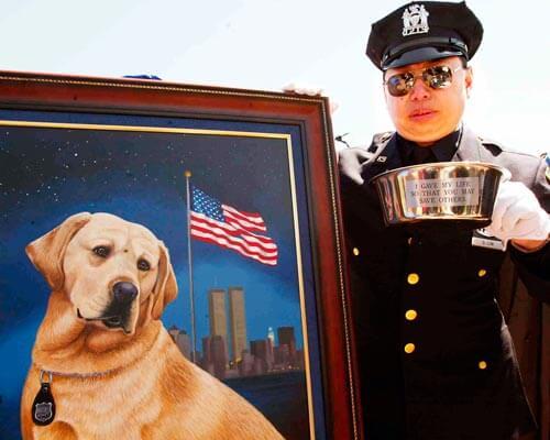 Sirius 9/11 dog Tribute