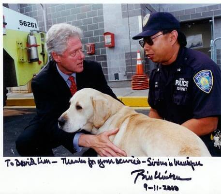 Sirius dog lover Bill clinton