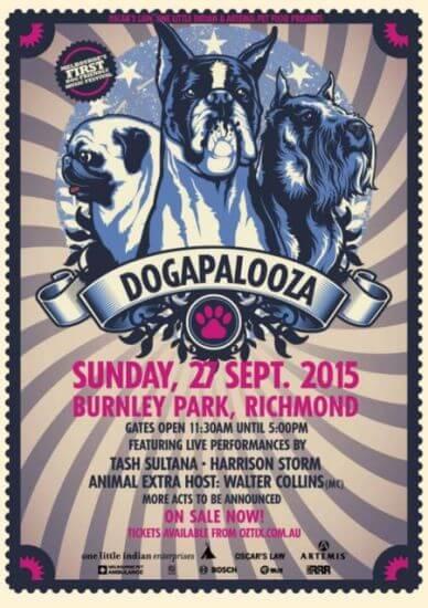 dogapalooza Melbourne music festival dogs