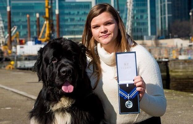 dog wins award for saving life