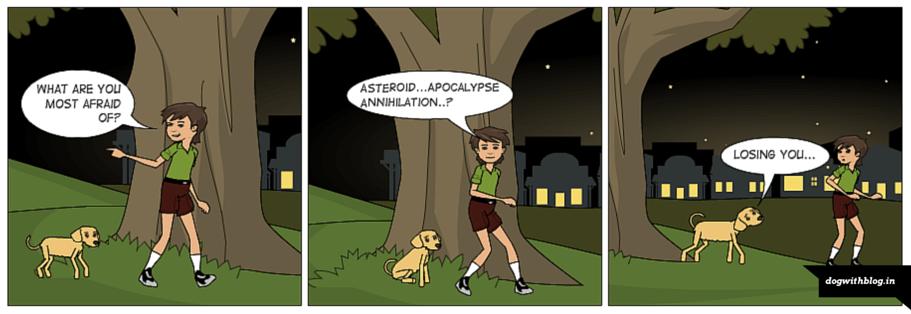 your dog's worst fear