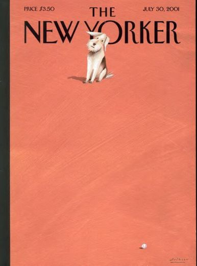 new yorker cover dogs