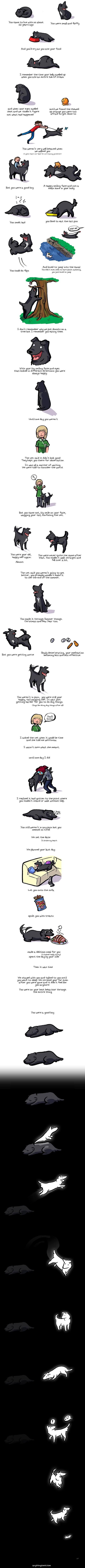 dog life comic, comic of a dog's life