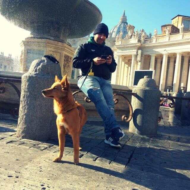 dog Vatican city