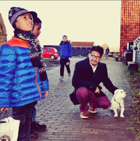 I am a dog in Zaanse Schans