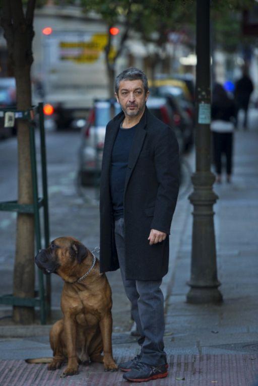 Ricardo Darin dog