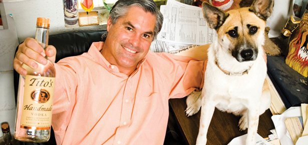 Tito's vodka dogs