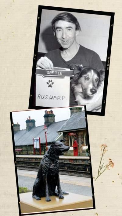 Ruswarp loyal dog waited