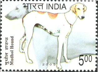Mudhol hound stamp
